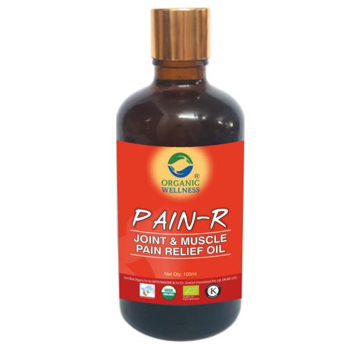 Organic-Wellness-Pain-Oil-100-Ml-Front-1