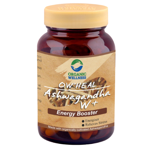 Organic-wellness-Ashwagandha-90-capsules-Front-1