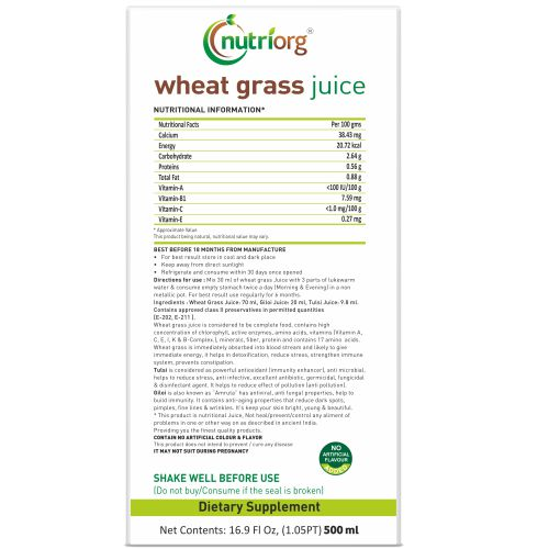 Wheatgrassjuice500ml_side