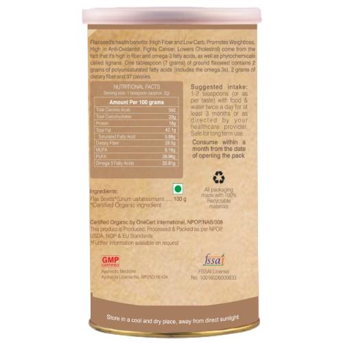 Organic-Wellness-Flax-Seed-100-Gram-Side-525